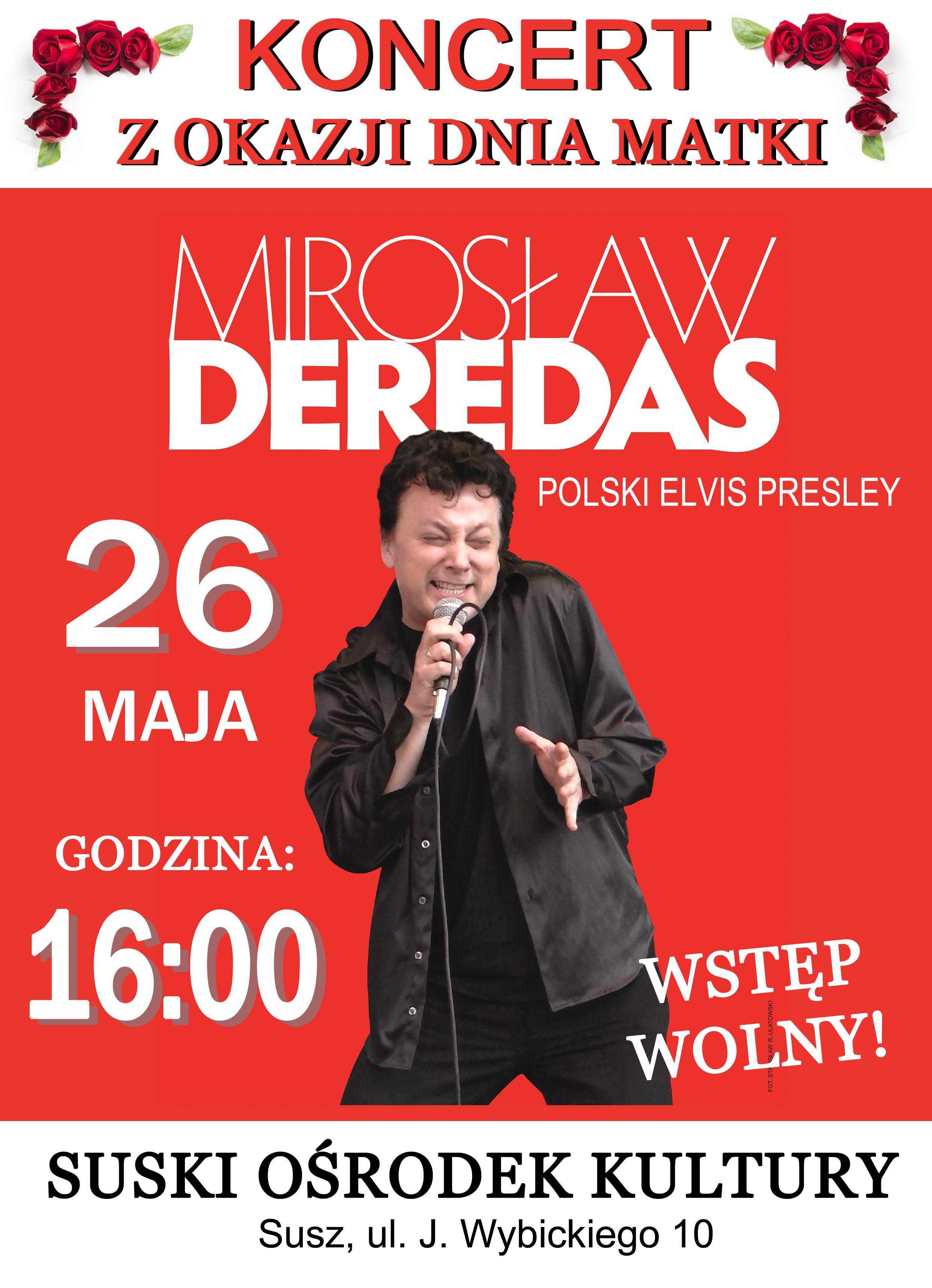 Polski Elvis Presley - Mirosław Deredas Polski Elvis Presley - Mirek Deredas